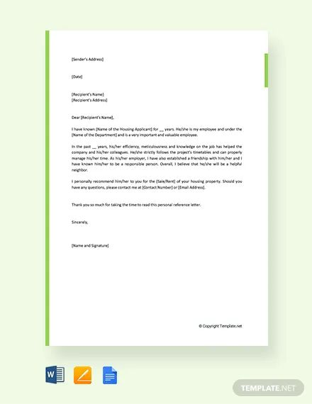 reference letters for college