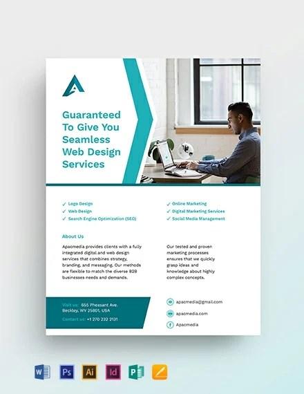 Website Designer Flyer Download 391+ Flyers in Microsoft Word
