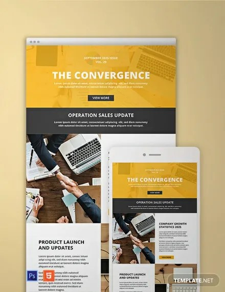64+ FREE Email Newsletter Templates Download Ready-Made Templatenet