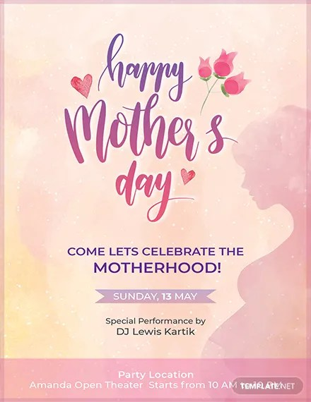 FREE Mothers Day Invitation Template Download 637+ Invitations in