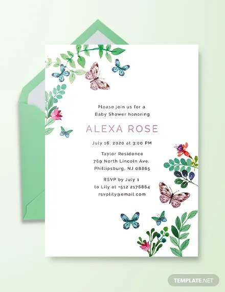 53+ Baby Shower Invitations Designs - PSD, AI, Word, EPS Free
