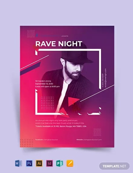 38+ Event Flyer Templates - Word, PSD, AI, EPS Free  Premium