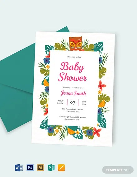 FREE Baby Shower Invitation Template Download 637+ Invitations in