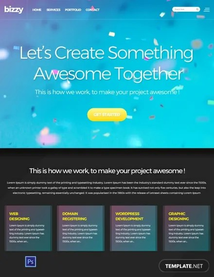 FREE Web Development Website Template Download 157+ Website
