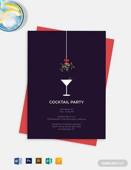 Formal Cocktail Party Invitation Template Download 227+ Invitations