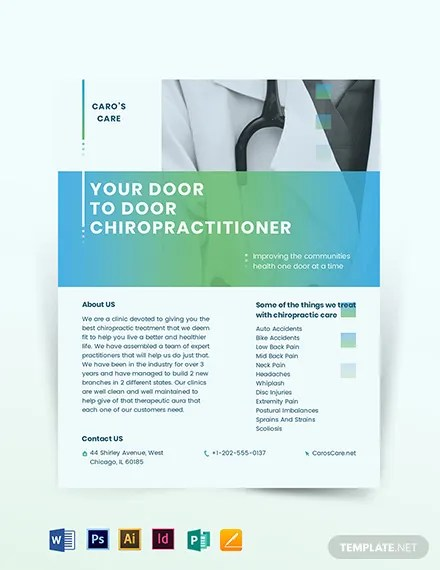 Chiropractor Flyer Template Download 318+ Flyers in Illustrator