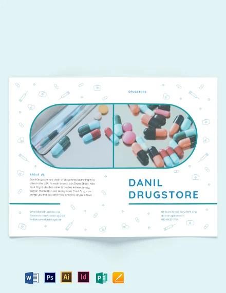 Drug Bi-Fold Brochure Template Download 267+ Brochures in