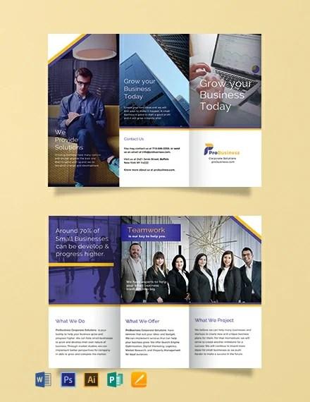 FREE Corporate Business Brochure Template Download 454+ Brochures