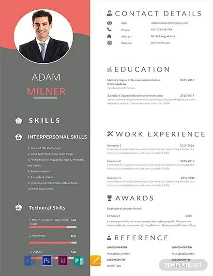resume title examples for sales