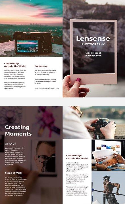 Free Half Fold Brochure Template Download 151+ Brochures in PSD - half fold brochure template