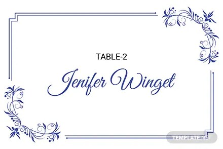 Free Delicate Lace Place Wedding Place Card Template Download 128+ - place card template