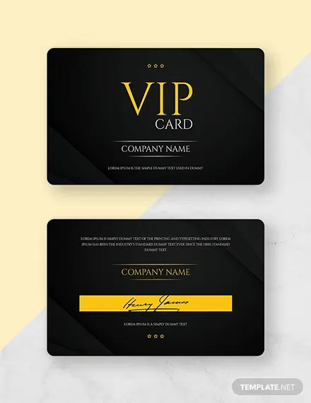 Free Membership Card Templates Download Ready-Made Templatenet