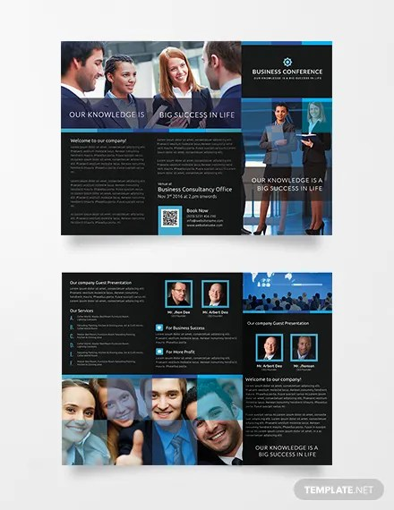 conference brochure template - Nisatasj-plus