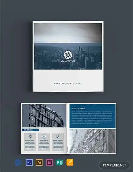 FREE Square Architect Brochure Template Download 457+ Brochures in