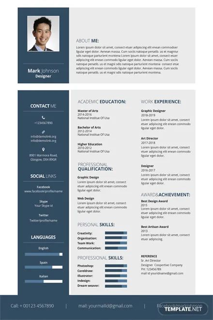 resume templates you can download