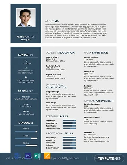 316+ FREE Resume Templates Download Ready-Made Templatenet