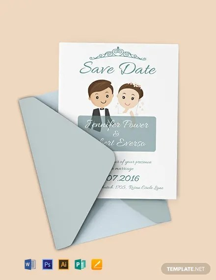 FREE Save the Date Invitation Template Download 637+ Invitations in