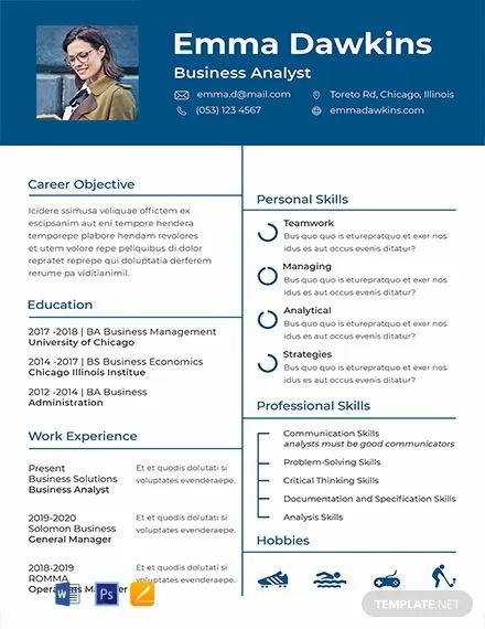 resume template publisher free