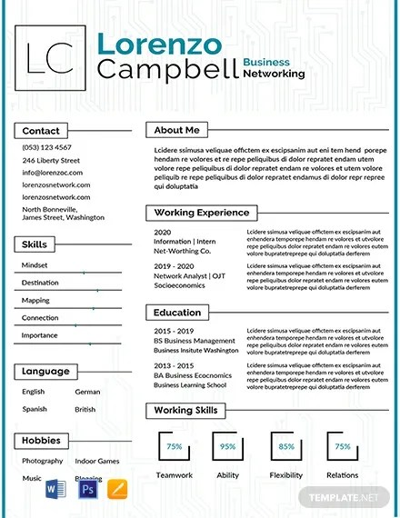 FREE Hardware and Networking Fresher Resume Template Download 316+