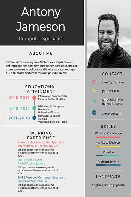 apple specialist sample resume