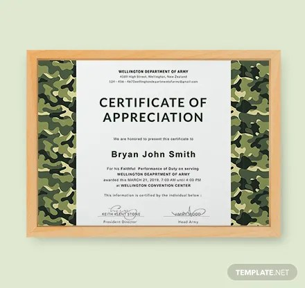 Free Certificate Templates Download Ready-Made Templatenet
