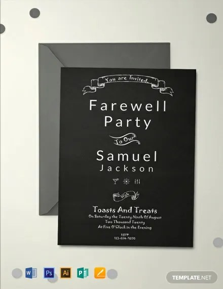 11+ FREE Invitation Farewell Templates Download Ready-Made