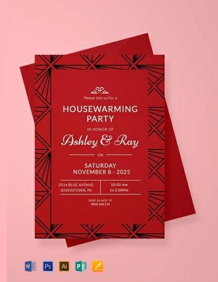 FREE Housewarming Invitation Template Download 637+ Invitations in