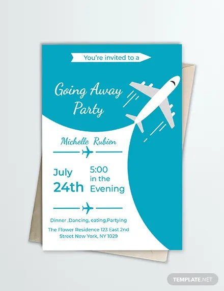 FREE Going Away Party Invitation Template Download 344+ Invitations