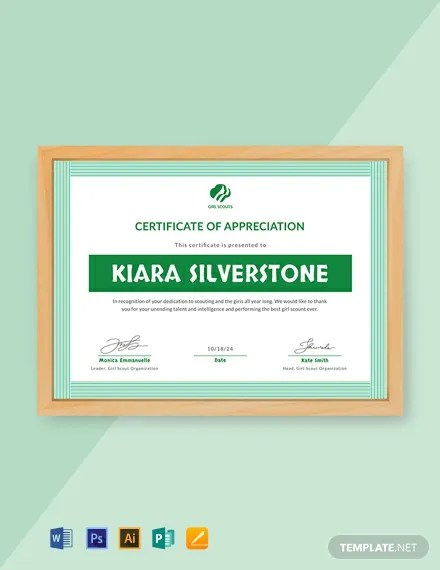 48+ FREE Appreciation Certificate Templates Download Ready-Made