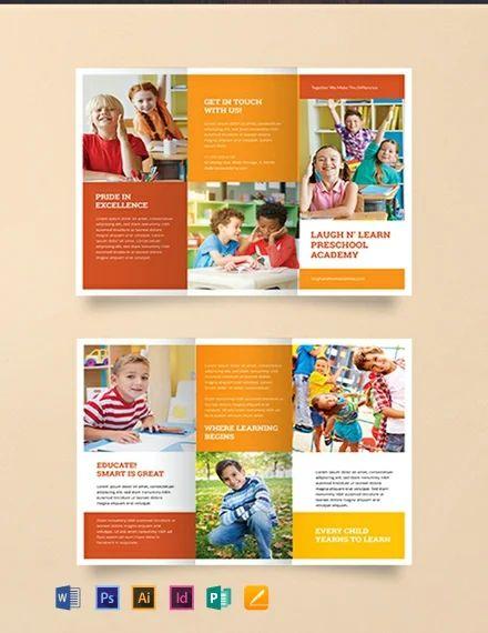 preschool brochures