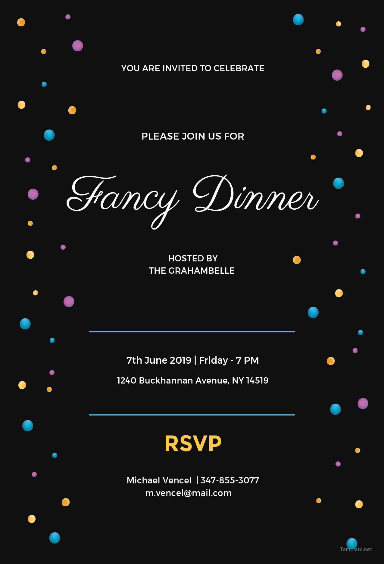 fancy invitation maker