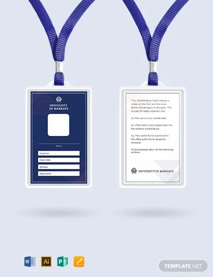48+ FREE ID Card Templates Download Ready-Made Samples Templatenet