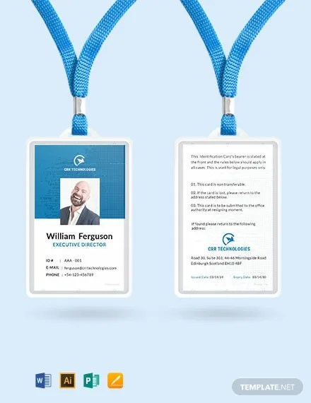 FREE Employee ID Card Template Download 300+ Cards in PSD
