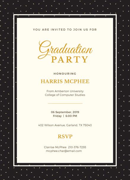 Free Graduation Invitation Template Download 344+ Invitations in
