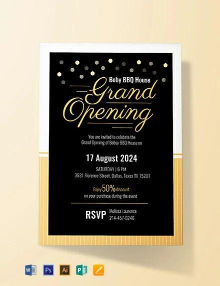 professional invitations