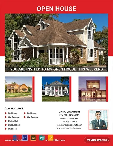 FREE Realtor Open House Flyer Template Download 812+ Flyers in PSD