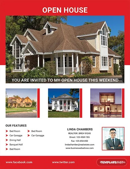 FREE Realtor Open House Flyer Template Download 416+ Flyers in PSD