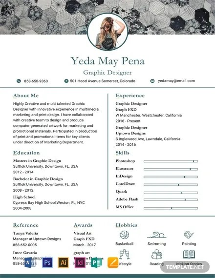 FREE Simple Modern Resume and CV Template Download 316+ Resume