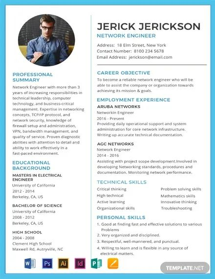 resume template wps