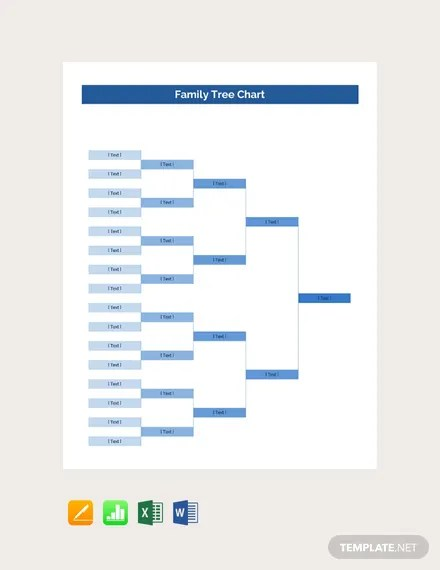 FREE Family Tree Chart Template Download 61+ Family Trees in Word