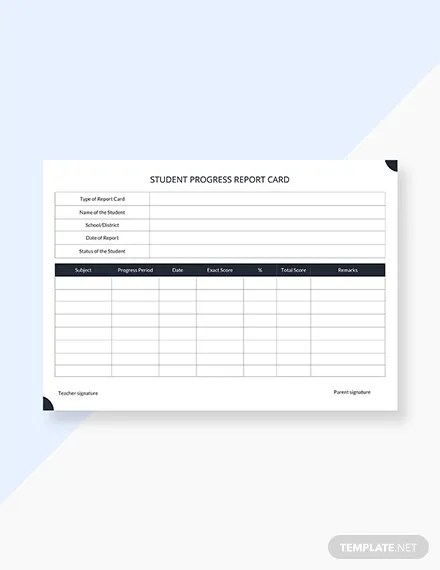30+ FREE Report Card Templates Download Ready-Made Templatenet