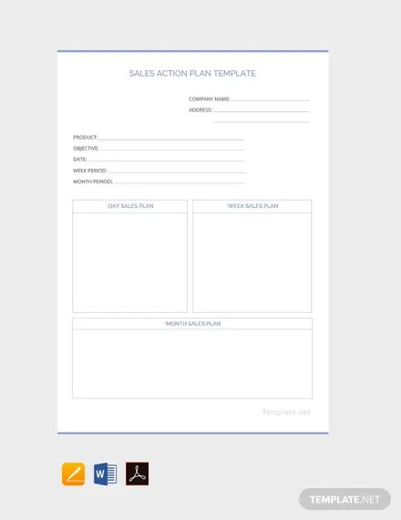 17+ FREE Action Plan Templates Download Ready-Made Templatenet