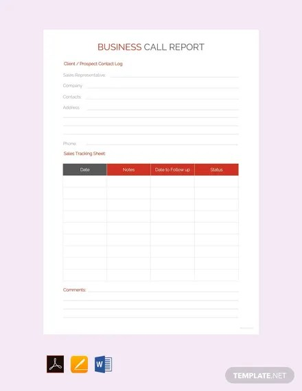 33+ FREE Business Report Templates Download Ready-Made Templatenet