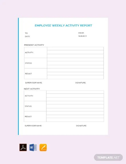 Employee Report Templates - 23+ Free Sample, Example Format Download