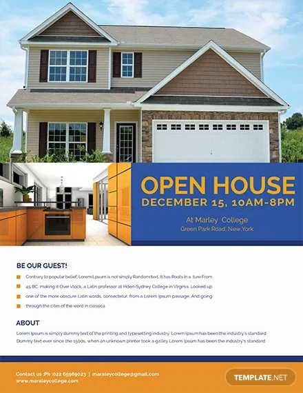 Mortgage Open House Flyer Template Download 416+ Flyers in PSD - open house flyer