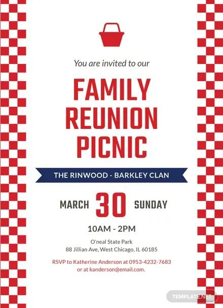 picnic invitations templates free
