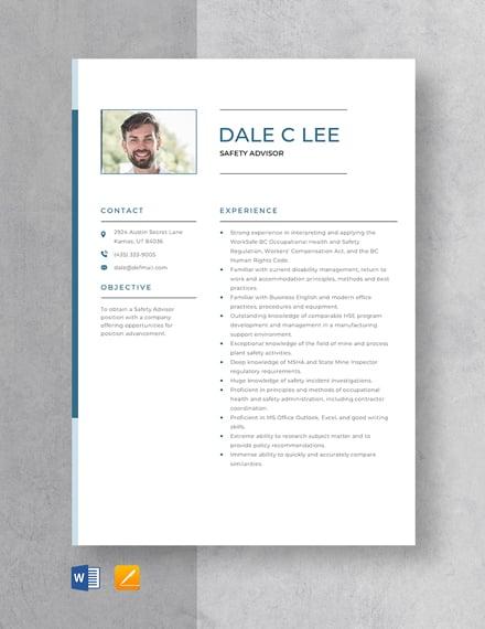 apple advisor resume sample