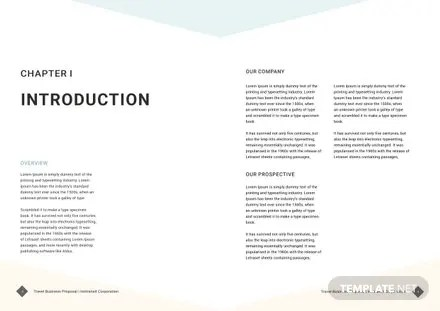 Travel Business Proposal Template In Adobe Indesign,Photoshop - travel proposal template