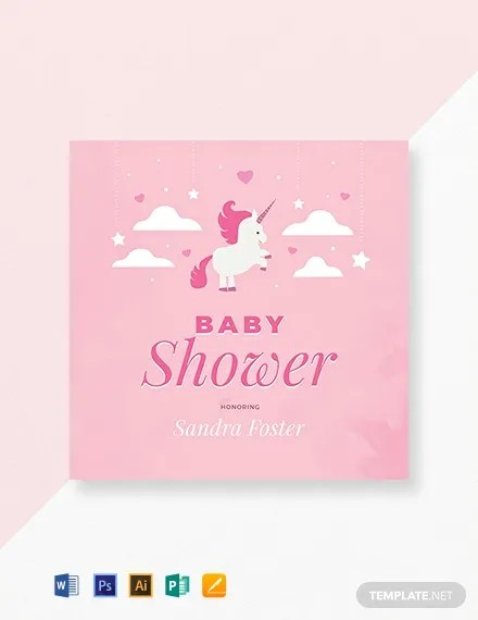 35+ Baby Shower Card Designs  Templates - Word, PDF, PSD, EPS