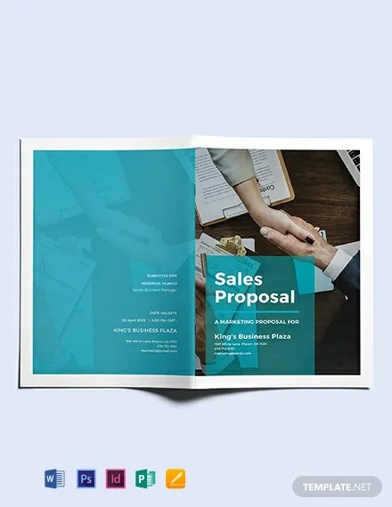 FREE Sales Proposal Template Download 177+ ProposalsInDesign, PSD